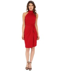 Catherine Malandrino Jazz Dress Crimson Women's Dress Red