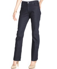 Lee Platinum Relaxed Fit Straight Leg Jeans Midnight Blue Wash