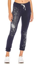 Wildfox Couture Cosmic Dust Echo Sweats In Blue. Oxford