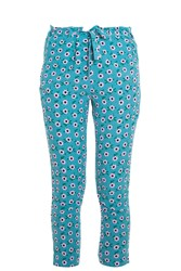 Paul And Joe Sister Floral Trousers Green