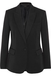 Stella Mccartney Wool Twill Blazer Black