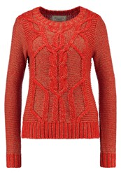 Abercrombie And Fitch Jumper Red
