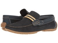 Steve Madden Zoomed Navy Men's Slip On Shoes