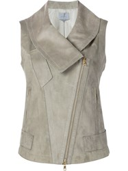 Maiyet 'Aviator' Sleeveless Jacket Grey
