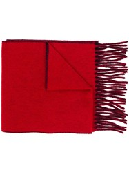 Vivienne Westwood Classic Orb Scarf Red