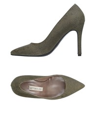 Gianmarco Lorenzi Pumps Military Green