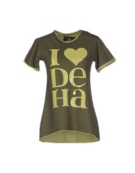Deha Topwear Sweatshirts Women Military Green