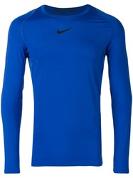 Nike Pro Compression Top Blue