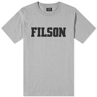 Filson Logo Outfitter Tee Grey