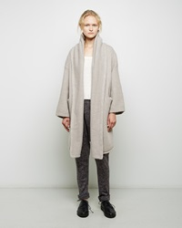 Lauren Manoogian Capote Alpaca Coat Cement