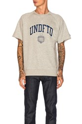 Undefeated College Crewneck Gray