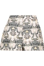 M Missoni Printed Faille Shorts Multi