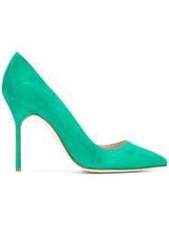 Manolo Blahnik Bb 105 Pumps Green