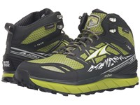 Altra Footwear Lone Peak 3 Mid Neoshell Lime Men's Shoes Green