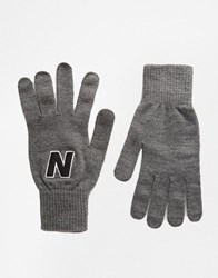 New Balance Gloves Grey