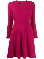 Boutique Moschino Crepe Swing Dress Pink
