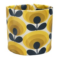 Orla Kiely 70S Flower Fabric Plant Bag Dandelion Small