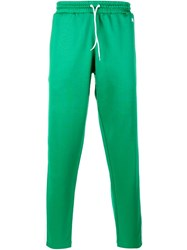 Ami Alexandre Mattiussi Striped Track Pants Green