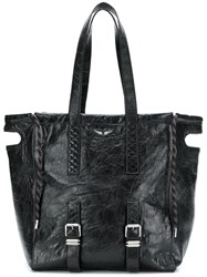 Zadig And Voltaire Bianca Xl Tote Bag Black