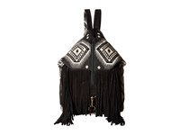 Scully Kali Fringe Handbag Black White Handbags