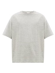 Raey Oversized Cotton Jersey T Shirt Grey