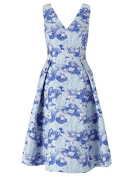 Adrianna Papell Floral Prom Dress Multi Coloured Multi Coloured