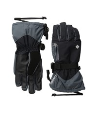 Columbia Bugaboo Interchange Glove Black Graphite White Extreme Cold Weather Gloves