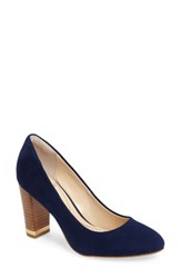 Isola Women's Eleni Iii Pump Navy Leather