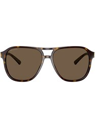 Bulgari Diagono Tortoiseshell Sunglasses Brown