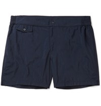 Incotex Short Length Swim Shorts Navy