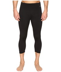 Hot Chillys Micro Elite Chamois Boot Tech Tight Black Clothing