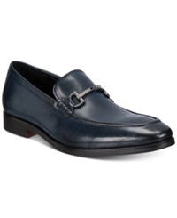 Alfani Men's Chandler Moc Toe Loafers Only At Macy's Men's Shoes Navy