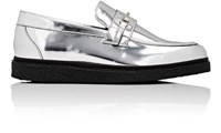 Opening Ceremony Women's Sloan Specchio Leather Loafers Silver