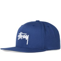 Stussy Stock Sp17 Snapback Cap Blue