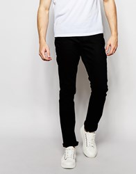 Bellfield Black Slim Fit Jeans Black