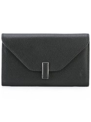 Valextra Envelope Wallet Black