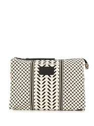 Lala Berlin Printed Make Up Bag Neutrals
