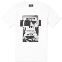 Medicom X Sync Dface Death To Dface Tee White