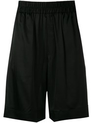 Laneus Track Shorts Black