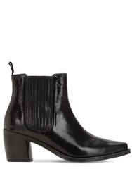 Alexachung 70Mm Leather Ankle Boots Black