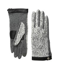 Echo Touch Basic Boucle Gloves Heather Grey Extreme Cold Weather Gloves Gray