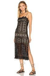 Jens Pirate Booty Caparra Flapper Dress Black