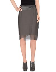 Tru Trussardi Skirts Knee Length Skirts Women Lead