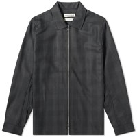 A Kind Of Guise Delon Zip Shirt Black