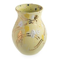 Coralla Maiuri Splodge Yellow Vase