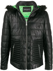Frankie Morello Quilted Leather Jacket 60