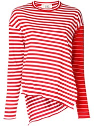 Ports 1961 Striped Jumper Red