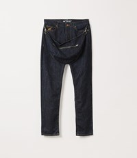 Vivienne Westwood Classic Tapered Harris Jeans With Bum Bag Blue