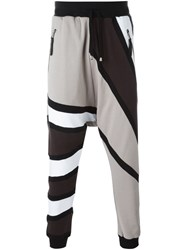 Unconditional Tribal Print Track Pants Black