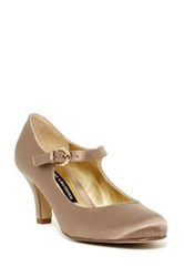 Chinese Laundry Paloma Mary Jane Pump Beige